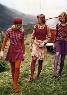 Vintage 1960s Sweater Skirt Tights Beret 60s Vest