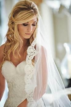 Brautfrisur Schleier Offene Haare