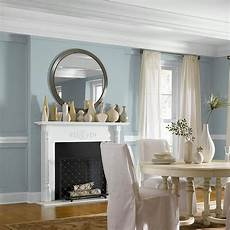 behr premium plus 8 oz n470 3 half sea fog flat interior exterior paint and primer in one