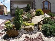 vorgarten steingarten anlegen pin dagmar krpatov 225 auf terasa vorgarten g 228 rten