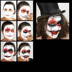 Horror Clown Schminken - horror terror clown make up schminkset theater profi