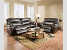 Simmons Braxton Espresso Living Room Furniture Collection