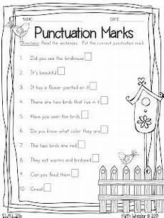 punctuation handwriting worksheets 20786 4 free printables punctuation syllables telling time and math word problems 1st grade