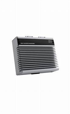 sma inverter manager 20 all products sma solar solar