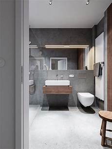 Bathroom Ideas Concrete by Trendy Bathroom Designs Combined With Modern And Geometric