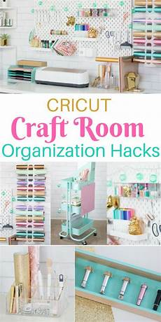 cricut craft and sewing room organization hacks craft