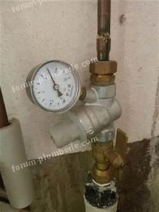 reducteur de pression avec manometre forum plomberie r 233 glage r 233 ducteur de pression 7 bars au