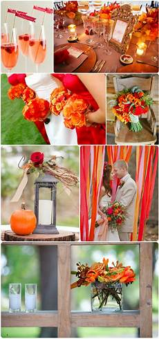 6 fall wedding colors ideas and wedding invitations