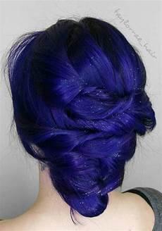 Indigo Blue Hair Design