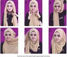 Cara Memakai Jilbab Segi Empat Modis Dan Modern Dengan