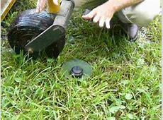 Fixing or Replacing a Broken Sprinkler Head, Install a