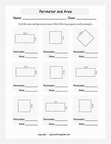 measuring perimeter worksheets grade 4 1812 perimeter and area printable grade 4 math worksheet