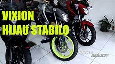 Vixion 2018 Modif by Modifikasi Yamaha All New Vixion 150 Versi 2018 Velg Hijau