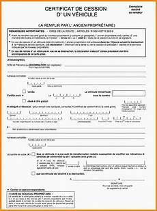 certificat vente moto certificat de cession voiture occasion gratuit la culture de la moto