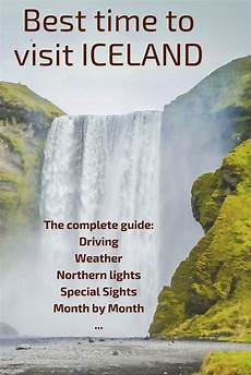 best time to visit iceland northern lights puffins weather driving conditions iceland