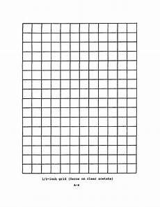 acetate grid sheets 1 2 inch grid xerox clear acetate