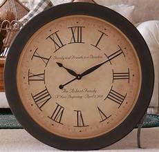 large wall clock 30 quot wood antique style custom tuscan big