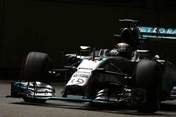 Mercedes AMG Front Row For 2014 Formula One Singapore
