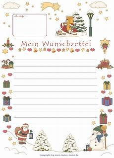 Malvorlagen Weihnachten Wunschzettel Wunschzettel Vorlage Kinder Vorlagen