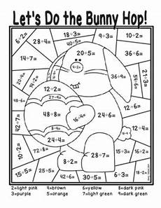 division coloring worksheets 4th grade 6141 easter division color by number by isaacson tpt