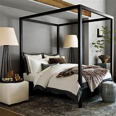 Bedroom Ideas Black Bed Frame by Keating Canopy Bed In Black House Likes
