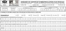 document changement adresse carte grise description du formulaire pour une demande de carte grise