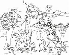Ausmalbilder Tiere Afrika Animal Coloring Page Only Coloring Pages