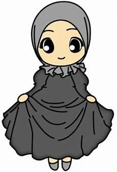 Kartun Muslimah Solehah Pria Wanita Lucu Banget Foto Dan