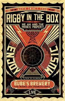 concert poster kiersten l portfolio blog