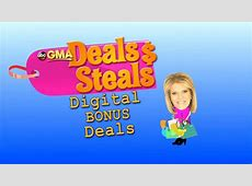 Gma Deals Today,Gma Deals Steals Sale: Up to 70% Off – Best Deals Today,Today steals and deals|2020-04-28