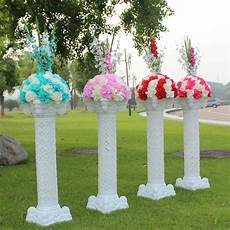Wholesalers For Decorations by New Style Wedding Plastic Column White Pillars