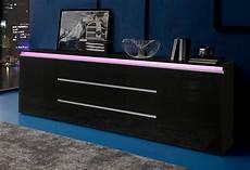lowboard 240 cm sideboard wei 223 hochglanz 240 cm bruin