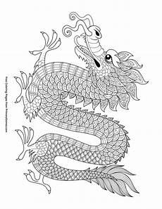 malvorlagen chinesischer drache kostenlos druckbares