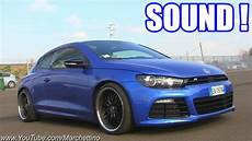 vw scirocco r vw scirocco r lovely sound start rev accelerations