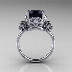 onyx engagement rings with diamond engagement rings