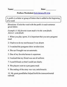 3rd grade worksheets english learning printable