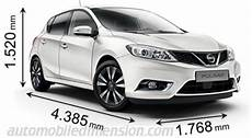 dimension qashqai 2015 dimensions of nissan cars showing length width and height