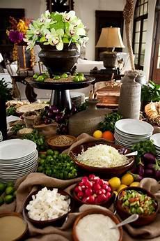 Wedding Evening Buffet Menu Ideas