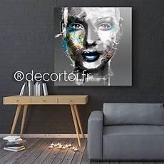 tableau visage noir et blanc tableau visage femme noir et blanc achat de tableaux sur