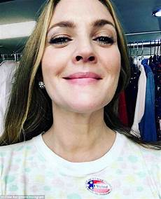 Drew Barrymore Proudly Declares She Voted Early As She