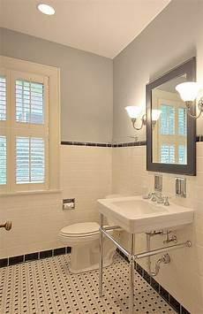 Bathroom Ideas Retro by Small Bathroom Retro W Subway Tiles Home