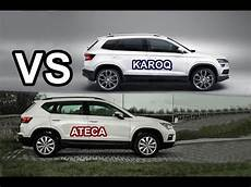2018 škoda Karoq Vs Seat Ateca Drive Exterior