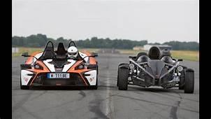 KTM X Bow R VS Ariel Atom 300 Acc&233l&233ration Motorsport
