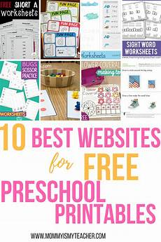 10 best websites for free preschool printables awesome homeschool and educational deals and