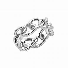 links of london signature band sterling silver ring