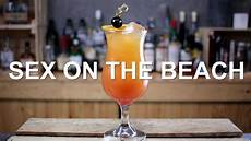 sex on the beach cocktail recipe youtube