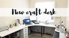new ikea craft room desk 2017 youtube