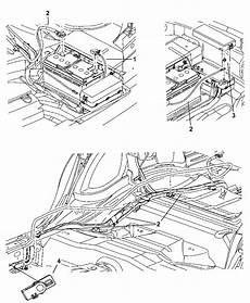 2010 chrysler 300 battery wiring diagram 4759976ag genuine mopar wiring battery positive