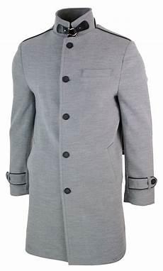 veste homme 3 4 veste longue manteau 3 4 col mao montant d 233 contract 233 chic