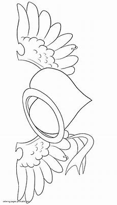 Malvorlagen Wings You With Wings And Ring Coloring Page